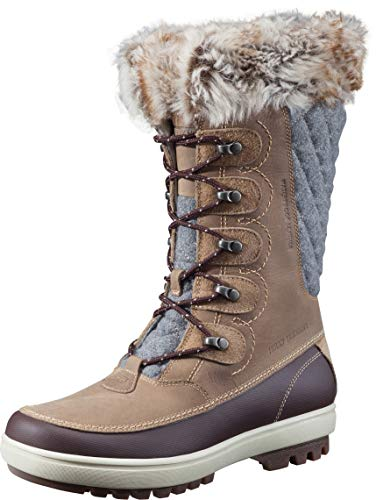 Helly Hansen Womens Garibaldi VL Cold Weather Snow Boots 704 Camel/Coffe Bean/Bunge Cord/Natura/Khaki/Angora/ Sperry Gum 8.5