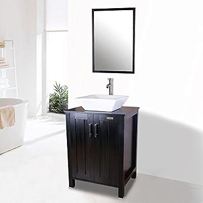 Tools & Home Improvement Bathroom Fixtures Wood White Fixture ...