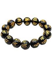 Holibanna Ädelsten pärlarmband 10 mm pärlor handled kedja smycken armband för kvinna man gåva fest gåva