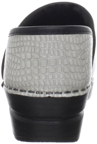 Sanita Womens Original Professional Croco Closed Clog Light Grey tafYxfPlz8