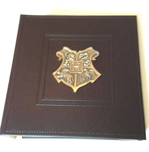 Universal Studios Wizarding World Harry Potter Deluxe Hogwarts Metal Crest Photo Album