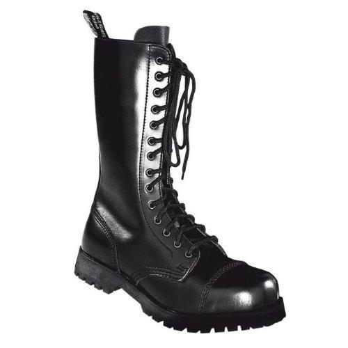 14–Hole Boots Boots 45 amp; Braces Black Rangers xO017ppw