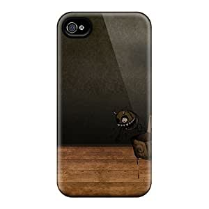 New Tpu Hard Case Premium Iphone 4/4s Skin Case Cover(emo Emo Girl Picture) by runtopwell
