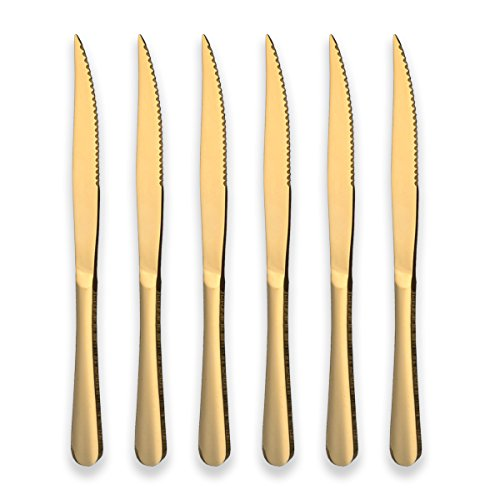 gold chef knife set - 5