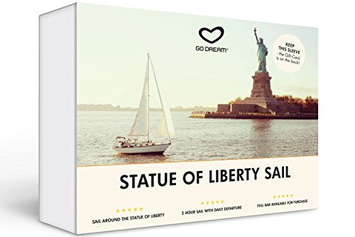 Statue of Liberty Sailing New York Experience Gift Card NYC - GO DREAM - Sent in a Gift Package