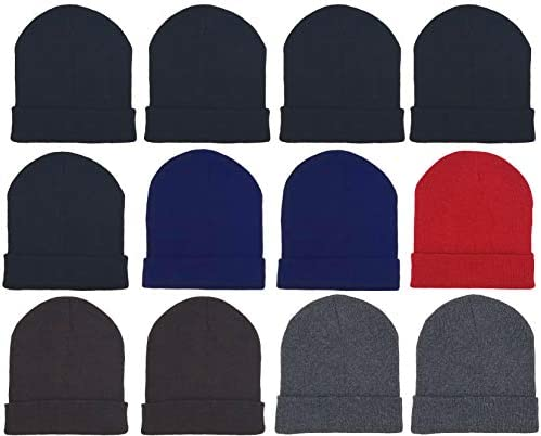 Winter Beanie Knitted Cuffed Wholesale product image