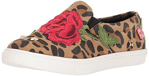 Steve Madden Women's Even Fashion Sneaker, Leopard Multi, 8 M US