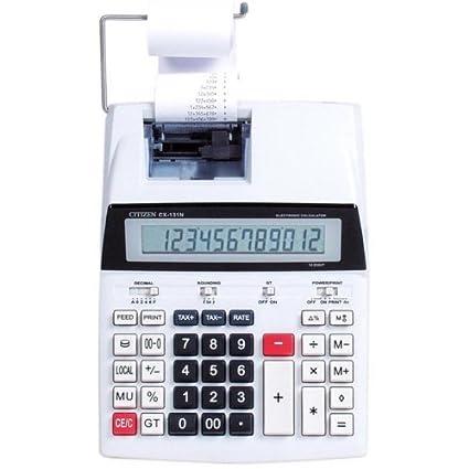 Calculadora impresora: Amazon.es: Oficina y papelería