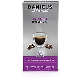 Daniel's Blend Cápsulas de café compatibles con máquinas Nespresso Surtido (100 Cápsulas)