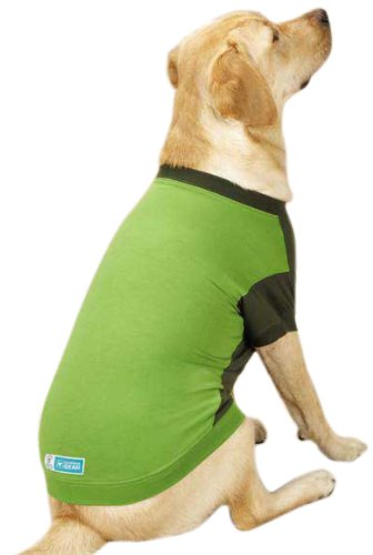 Guardian Gear Insect Shield Tee for Dogs, X-Large, Green, My Pet Supplies