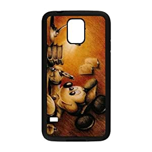 Samsung Galaxy S5 Cell Phone Case Black Disney Mickey Mouse Minnie Mouse lspl