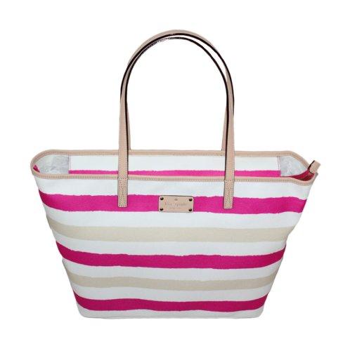 Kate Spade Bondi Road Medium Harmony Shoulder Bag (Pink/Cream) by Kate Spade New York