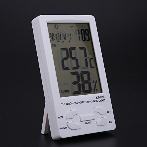 WinnerEco Indoor/ Outdoor Digital LCD Thermometer Hygrometer Temperature Humidity Met by WinnerEco (Image #4)