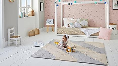 Pavimento In Gomma Per Bambini : Lubabymats u tappeto a puzzle per bambini in gomma eva per