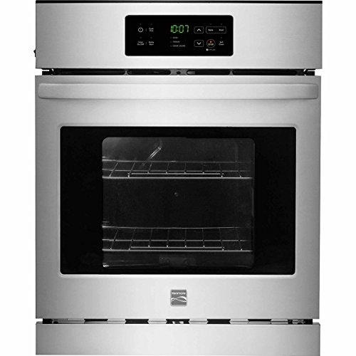 Kenmore 40283 24″ Electric Wall Oven with Self-Clean, Stainless Steel