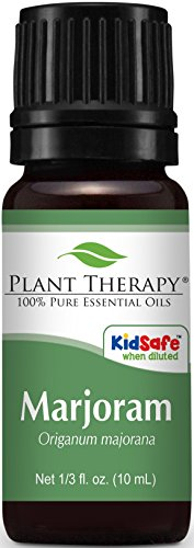 Plant Therapy Sweet Marjoram Essential Oil. 100% Pure, Undiluted, Therapeutic Grade. 10 ml (1/3 oz).