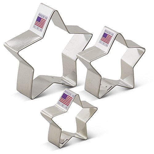 Ann Clark Star Cookie Cutter Set - 3 Piece - 2