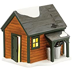 Department 56 A Christmas Story Village Ralphie's Backyard Shed Lit House, 4.65 inch