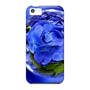 Shock-dirt Proof Trapped Hydrangea Cases Covers For Iphone 5c