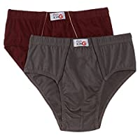 RUPA Frontline Men's Cotton Briefs (Pack of 2) (Colors May Vary)