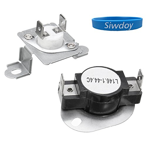 Siwdoy 279973 Dryer Thermal Cut-Off Fuse & Thermostat Kit for Whirlpool Kenmore Maytag - Replaces 279973, 3391913, 8318314, AP3094323 - Thermal Kit