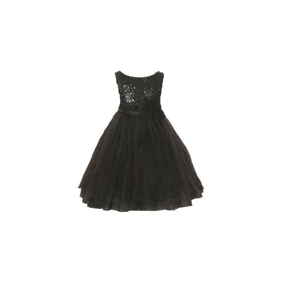 Kids Dream Girls Tulle Fancy Party Dress with Sparkles