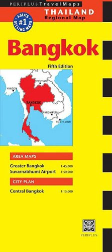 Periplus Travel Maps Bangkok (Thailand Regional Maps)