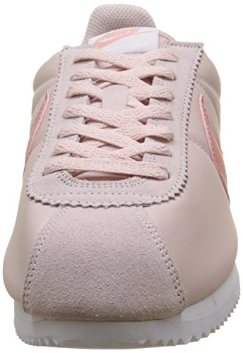 Nike WMNS Classic Cortez Nylon, Women's Low-Top Sneakers Red (Silt Red/Red Stardust-white)