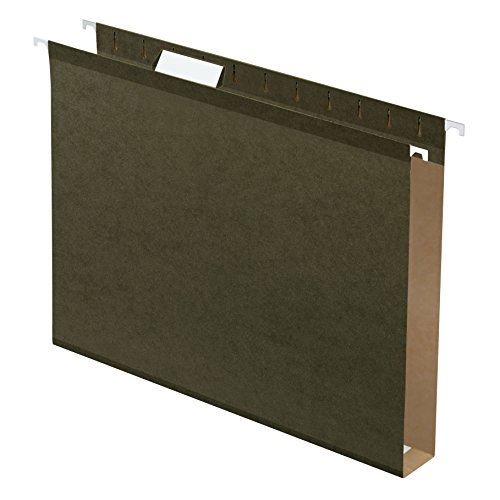 Capacity Green Reinforced Hanging Standard - Pendaflex Extra Capacity Reinforced Hanging Folders, 1