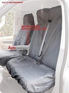 Automotique 2011 Citroen BERLINGO 1.6 HDI Enterprise Quality Leather Look Van SEAT Covers