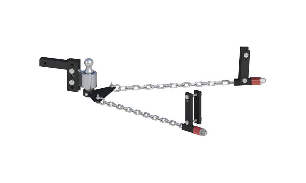 4 Drop//rise 3344 Andersen No-sway Weight Distribution Hitch 2-5//16 Ball 4-3//8 Frame Brackets 2-5//16 Ball 4-3//8 Frame Brackets Andersen Manufacturing Inc.