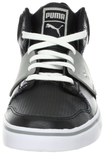 Limestone Perforated 2 PUMA Ace EL Shoe Gray Mid Mens Black 6ww84xUna