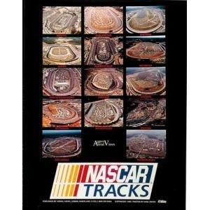 Nascar Tracks Poster Print