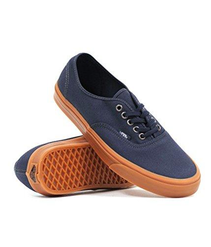 Vans Authentic, Zapatillas de skateboarding Unisex India Ink Gumsole