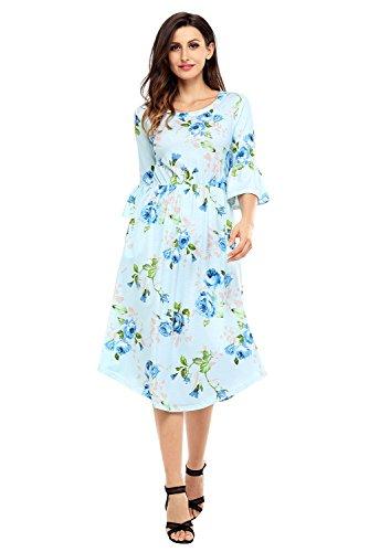 3 4 Length Dresses - 8