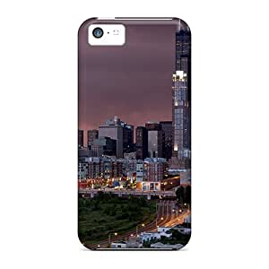 New Arrival Case Specially Design For Iphone 5c (storm In City)