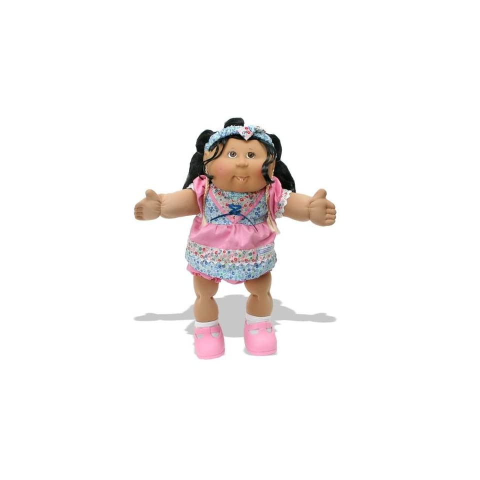 Cabbage Patch Corn Silk Kids Girl in Pink Dress