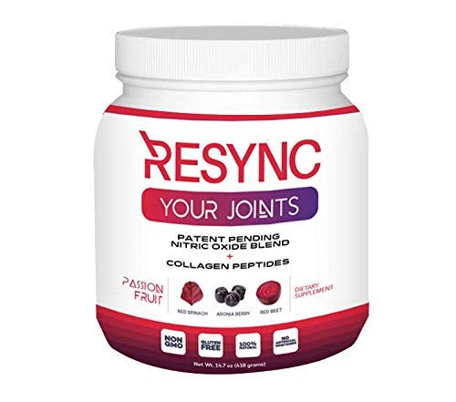 Cheap RESYNC Your Joints – Collagen Peptides w/Clinically Formulated Joint, Nitric Oxide & Inflammatory Support Featuring Unrivaled Ingredients: Red Spinach, Beets, Aronia, Calcium Fructoborate & More