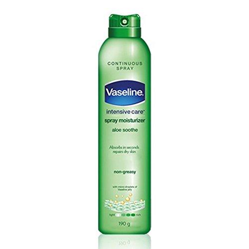 Vaseline Spray & Go Moisturizer, Aloe Fresh, 6.5 oz (Spray Vaseline)