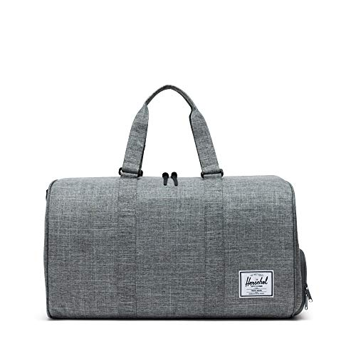 Herschel Novel Duffle Bag, Raven Crosshatch, One Size