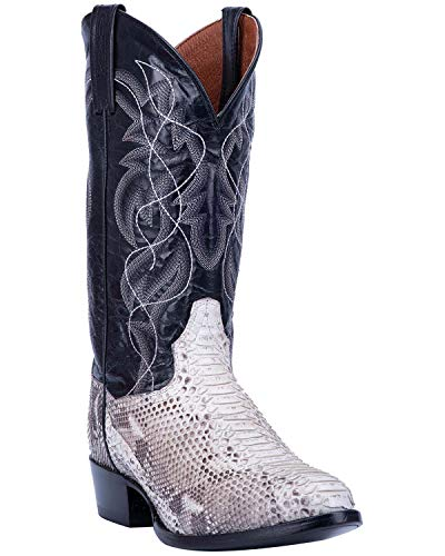 - Dan Post Men's Manning Western Boot Round Toe Python 7 D