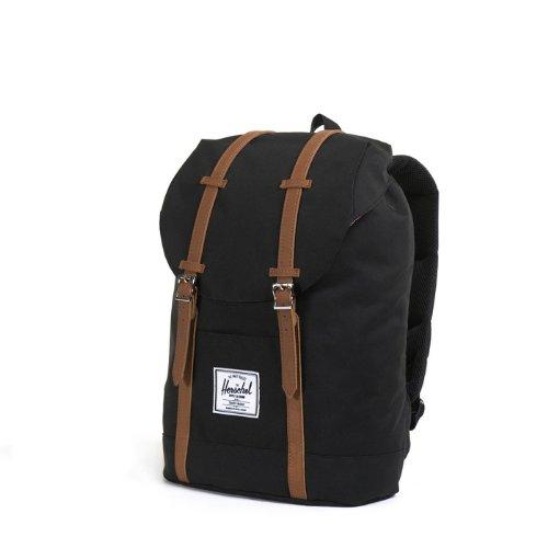 herschel supply co retreat backpack black one size import it all. Black Bedroom Furniture Sets. Home Design Ideas