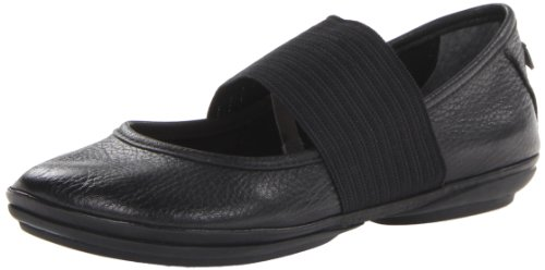 Right Ballet Camper Black Women's Nina Flat 5Tn6w