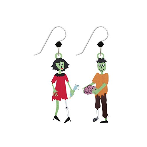 Sienna Sky Artisan Zombies Earrings with Gift Box