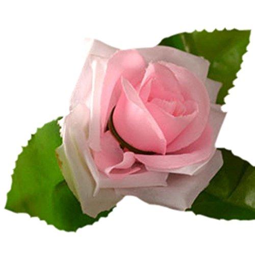OVERMAL 8Ft Artificial Fake Silk Rose Flower Ivy Vine Garland