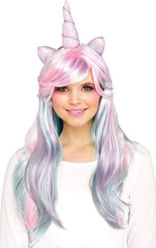 Funworld Pastel Unicorn Wig (One -