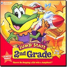 Knowledge Adventure JumpStart 2nd Grade - Vista Compatible Children 9 and Under for Windows for 8-6