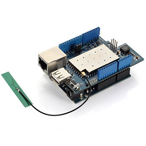 Dragino Linux, Wifi, Ethernet, USB, All-in-one Yun Shield for Arduino Leonardo, UNO, Mega2560, Duemilanove by Dragino (Image #5)