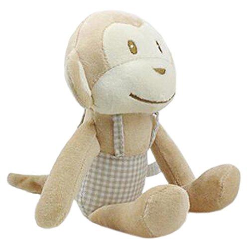 Cadeau pour enfants Appease Poupée en peluche Monkey Rabbit Cotton Strap Doll Accompany Sleep Doll, Monkey