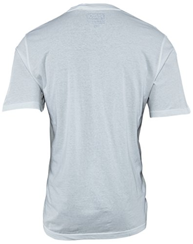 T-shirt A Righe Stampate Bianca Parrocchia Uomo Bianco / Reale